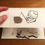 Clever 2D & 3D amalgamation by HuskMitNavn gives life to cartoons