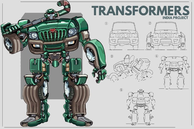 Indian Version of Transformers-1