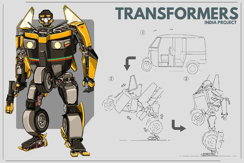 Indian Version of Transformers-2