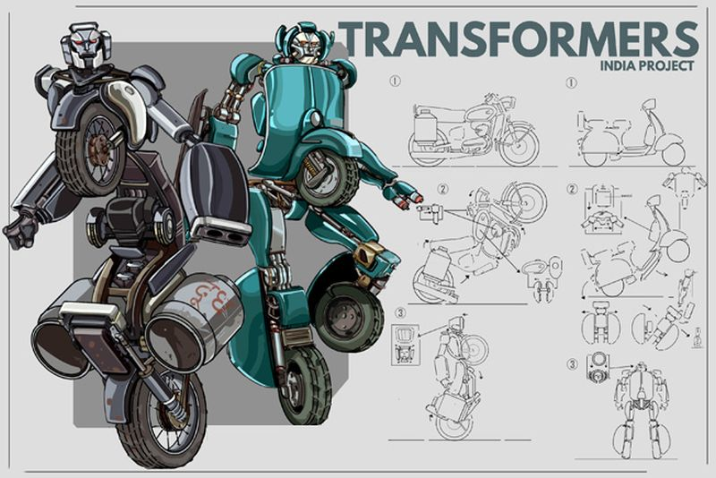 Indian Version of Transformers-3