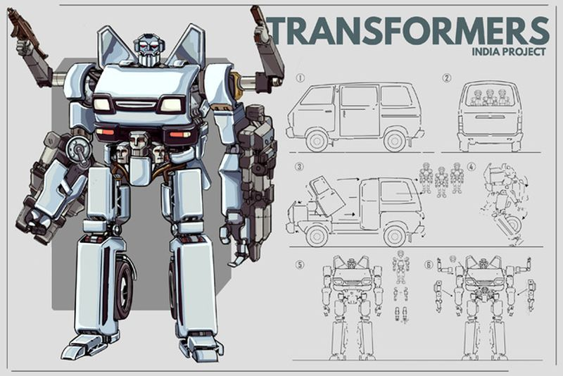 Indian Version of Transformers-5