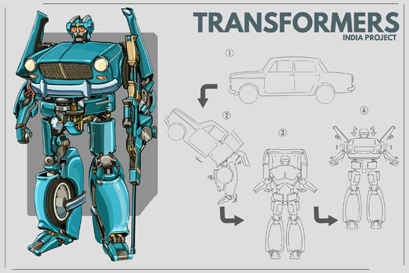 Indian Version of Transformers-6