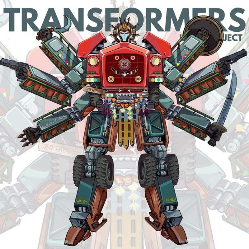 Indian Version of Transformers-8