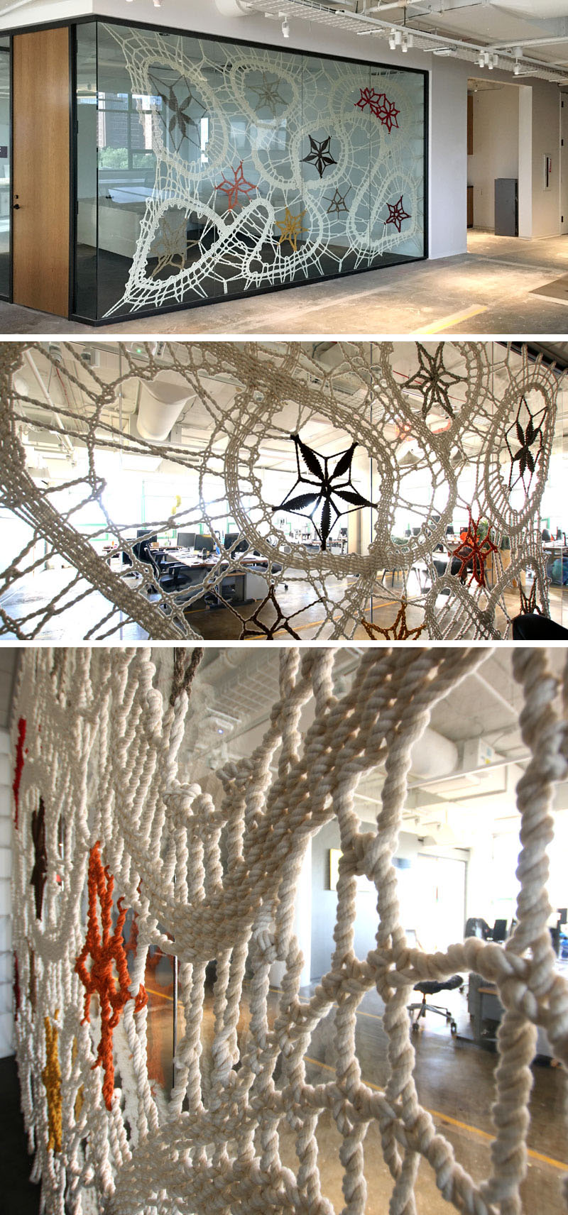 Rope lace artwork Etsy office-6
