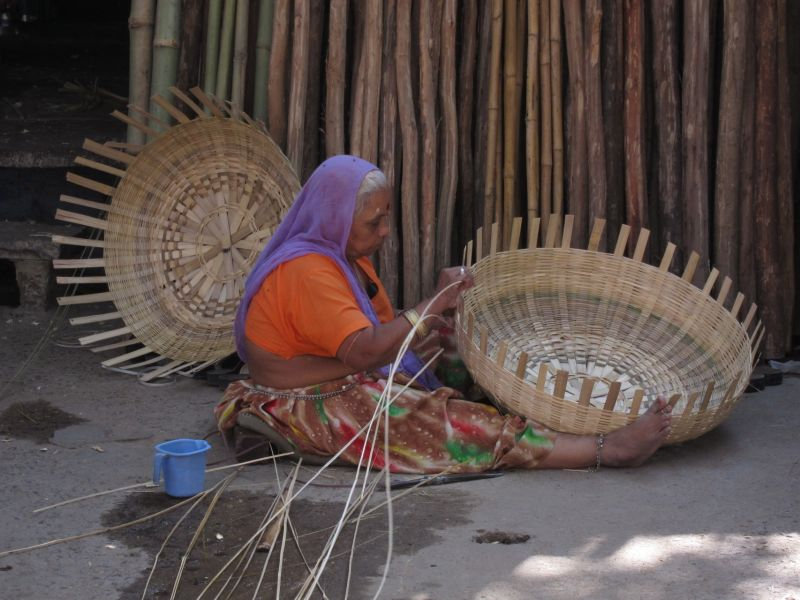 Handicraft Basketry : Indian handicrafts that will disappear forever if not