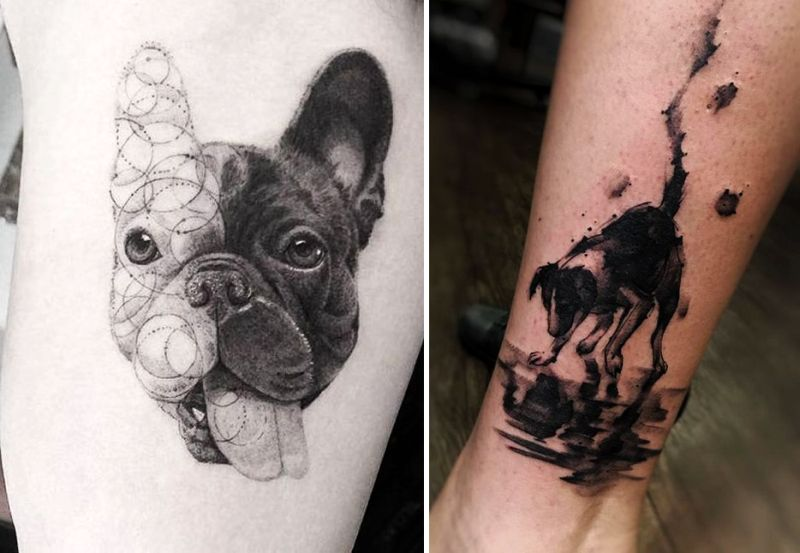 10 amazing dog tattoos to inspire you to ink your skin