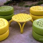 Hyderabad-based couple recycles old tyres into chic office furniture