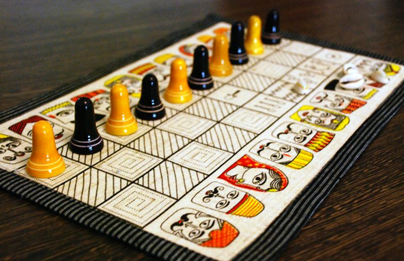 Pachisi Indian Board Games-1