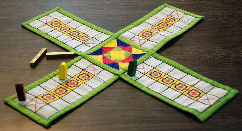 Pachisi Indian Board Games