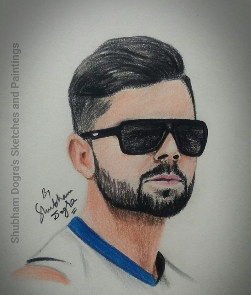 Shubham Dogra sketches and paintings-11