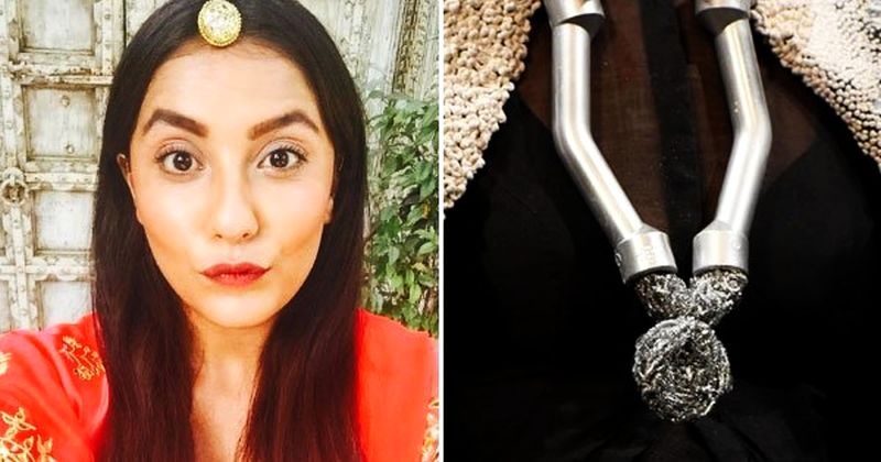 This Delhi girl transforms recyclable goods into fashion jewellery
