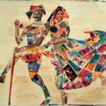 This 82-year-old woman creates colourful artworks out of postage stamps