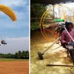 A high school drop-out designs a low-cost paraglider for ₹60,000