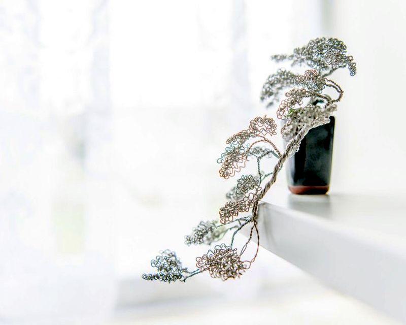 Metal bonsai-7