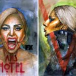Abhishek Kumar painted over 250 remarkable portraits of Lady Gaga