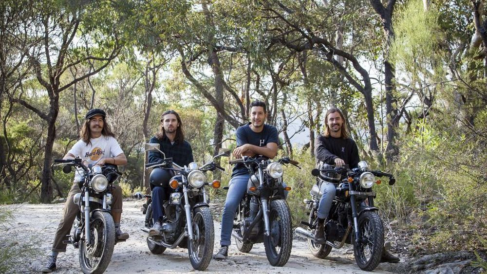 Four Aussie bikers ride across India to highlight child right issues