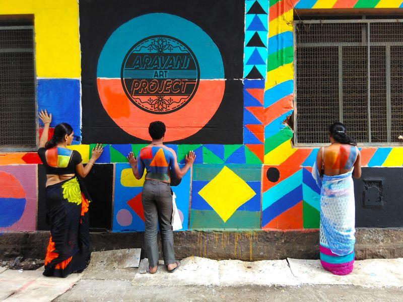 Aravani Art Project gives voice to transgender community through street art