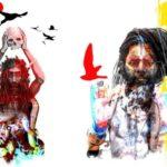 Phenomenal Aghori-inspired artworks by ThinnkDesign Studio