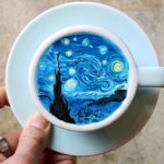 Drink Art! Korean Barista serves coffee with artistic aesthetic