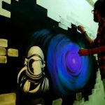 Prakhar Verma's incredible graffiti art expresses some dark emotions