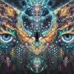 Buddhist Artist's surreal psychedelic art is a part of his imagination