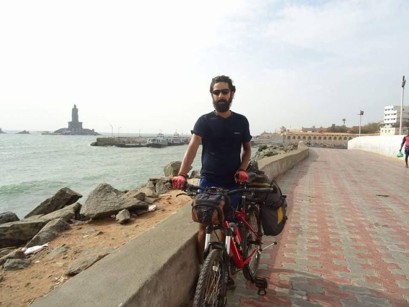 Pedalling his passion, this man cycled from 'Mandi to Madurai'
