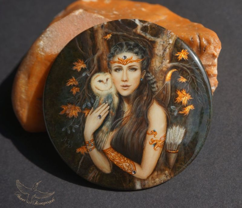 Miniature Lacquer Painting