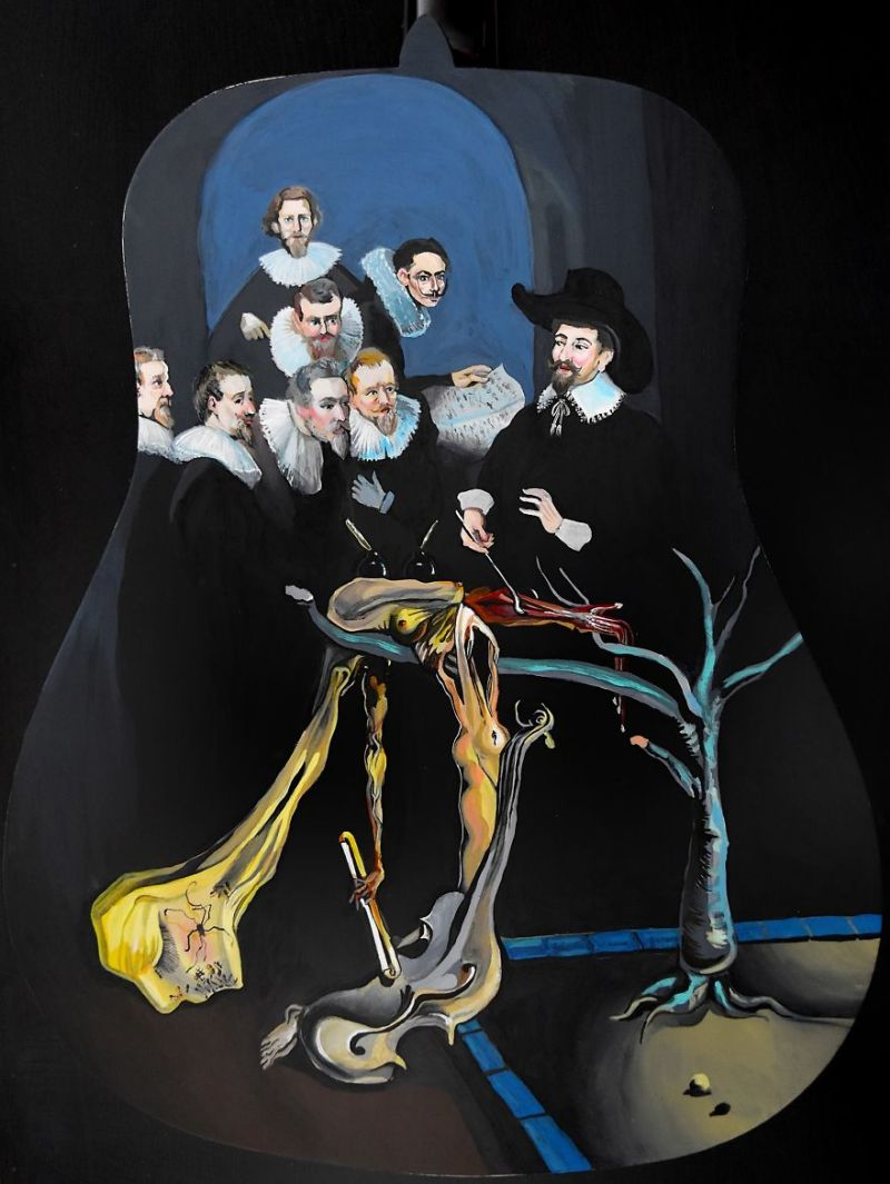 Dali meets the Masters
