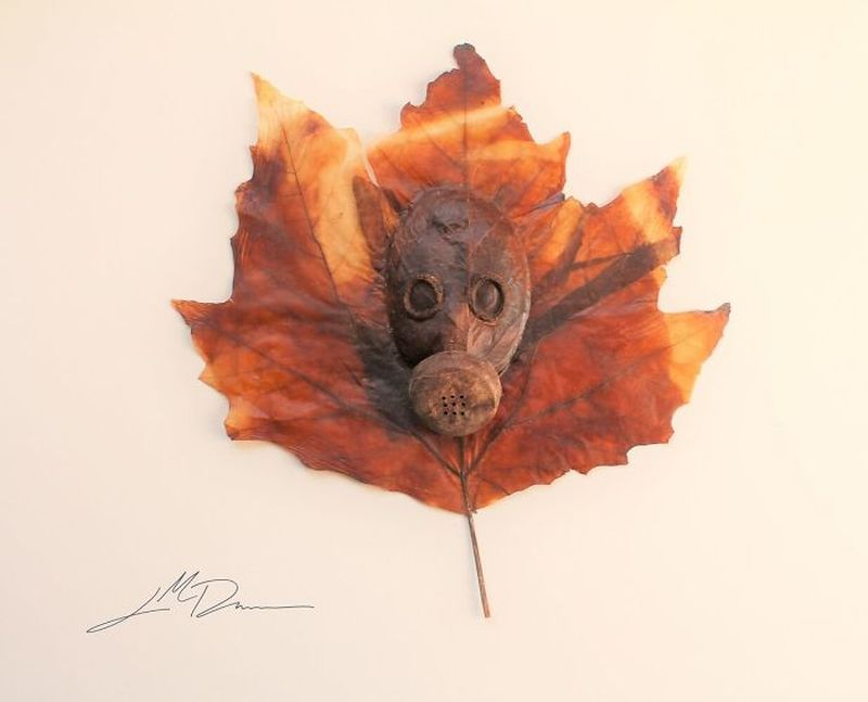 Leaf Art by Lorenzo M. Durán