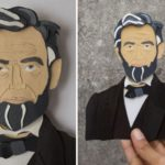 Indian artist duo creates paper cut portraits of some iconic personalities