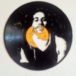 These incredible pieces of art are made out of old vinyl records