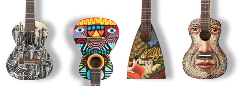 Art on Ukulele-1