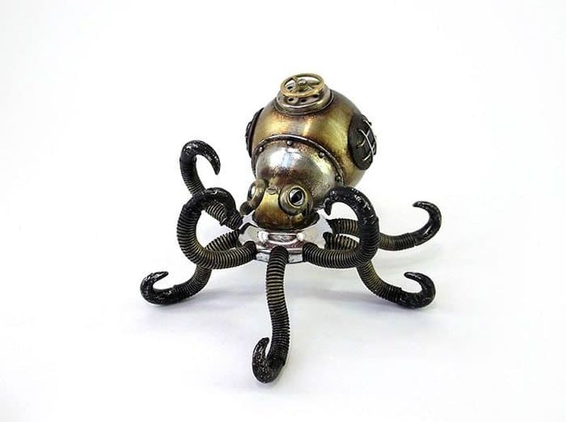Steampunk Animals by Igor Verniy