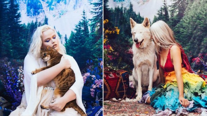 Photographer captures beauty of 19 animals rescued from black market
