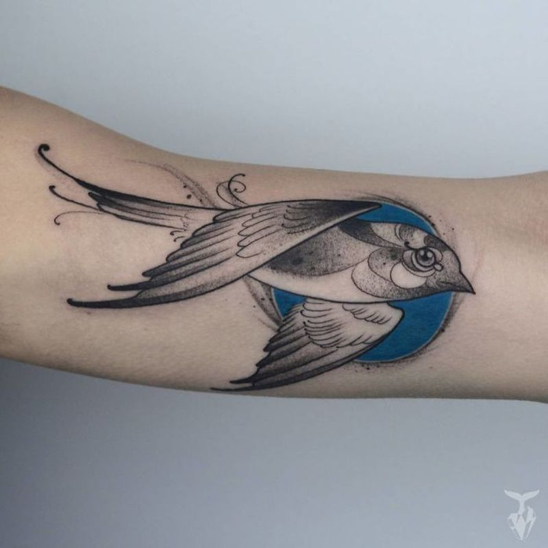 Nature-inspired tattoos by Boglárka Tóth