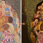 Photographer recreates Gustav Klimt's iconic paintings with real models