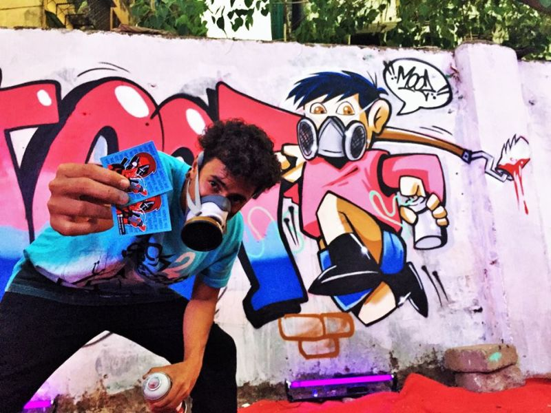 Wicked Broz: Graffiti artists aim to revive cult art and upcycling in India