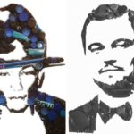 Trash for Cash: Artist turns scrap into portraits or logos for charity