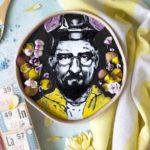 Food Art: Malaysian artist creates striking portraits on smoothie bowls