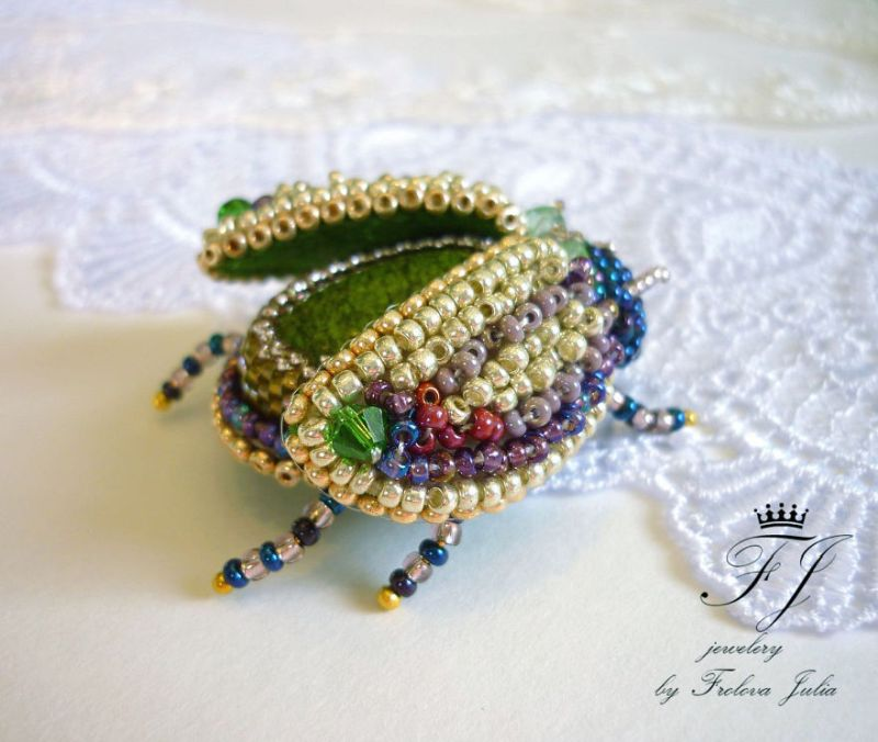 Beaded Jewellery by Julia Frolova