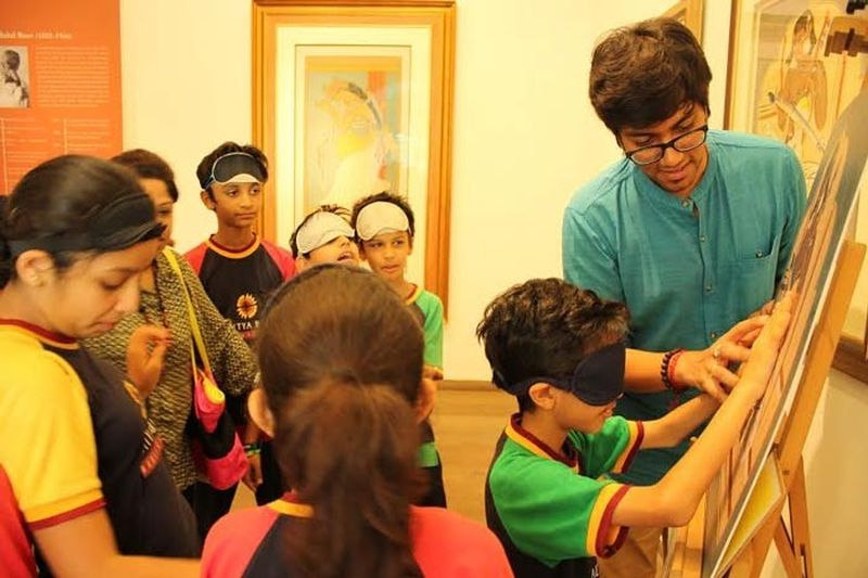 This Indian architect is making art accessible for the visually impaired