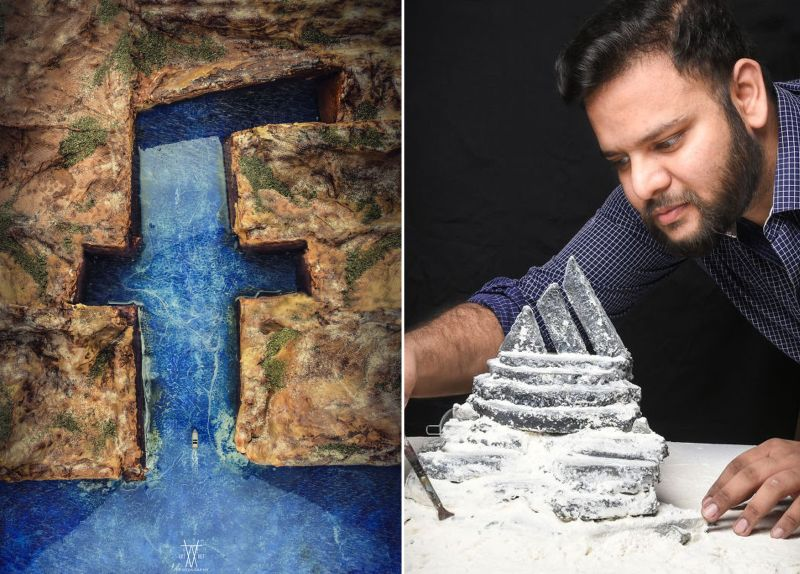 Dramatic dioramas of famous logos made by Vatsal Kataria