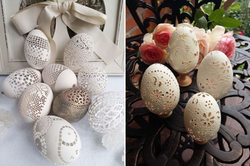 Egg Art – Imaginative artist makes arduous artworks from actual eggshells