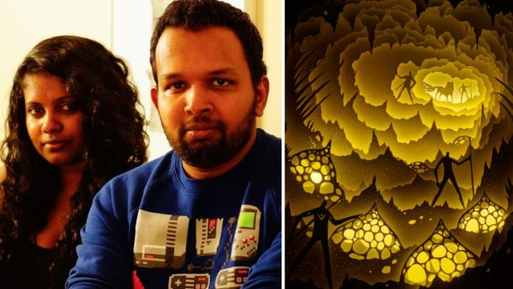 Mumbai's husband-wife duo takes you to mythical lands with backlit dioramas