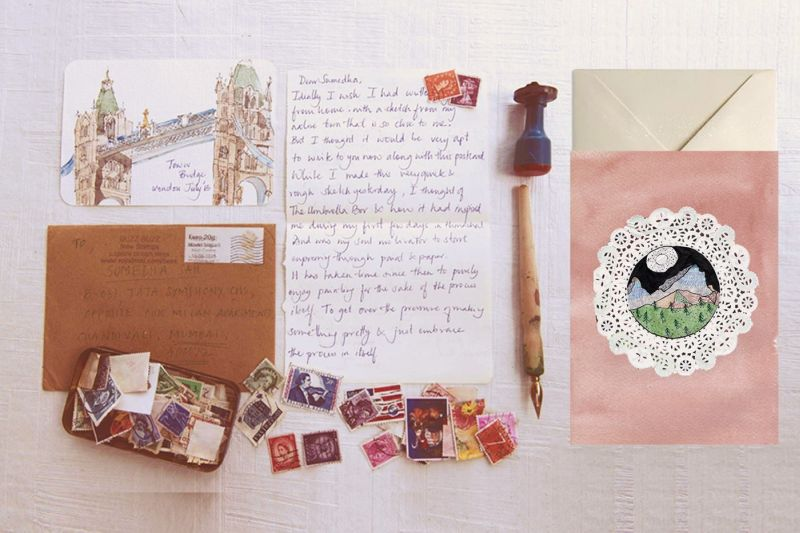 Snail Mail Project by Sumedha Sah