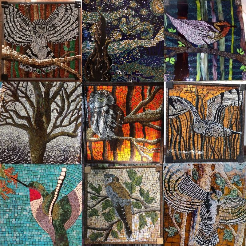 glass mosaic art by Kashena Hottinger-8