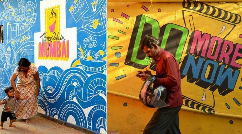 Chal Rang De: An initiative to give vibrant makeover to Mumbai's slums
