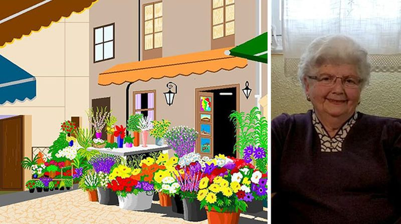 87-Year-Old Woman Makes Stunning Art Using Microsoft Paint