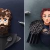 Paper Cut Game of Thrones Characters by Robbin Gregorio