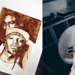 Coffee Painting – Coffee Addict Paints Musicians Using Her Cup of Joe